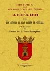 HISTORIA DE LA MUY NOBLE Y MUY LEAL CIUDAD DE ALFARO.