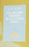 GRANDES PERIODOS CULTURA GRIEGA