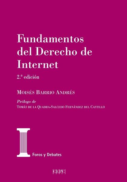 FUNDAMENTOS DEL DERECHO DE INTERNET (2.ª EDICIÓN)