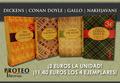 OFERTA LOS CUATRO LIBROS 11,40 EUROS