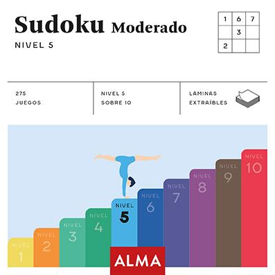 SUDOKU MODERADO (CUADRADOS DE DIVERSIÓN) NIVEL 5