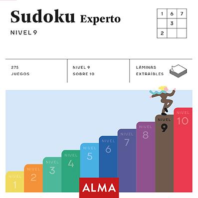 SUDOKU EXPERTO (CUADRADOS DE DIVERSIÓN) NIVEL 9