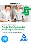AYUDANTES DE ACTIVIDADES TÉCNICAS Y PROFESIONALES DEL IMSERSO (PERSONAL LABORAL