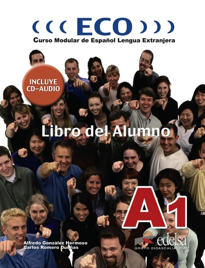 ECO A1 - LIBRO DEL ALUMNO + CD AUDIO.