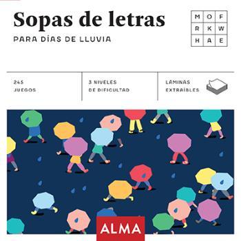 SOPA DE LETRAS PARA DÍAS DE LLUVIA (CUADRADOS DE DIVERSIÓN)
