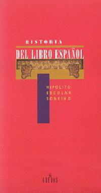 HISTORIA DEL LIBRO ESPAÑOL