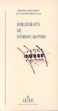 BIBLIOGRAFIA DE DAMASO ALONSO