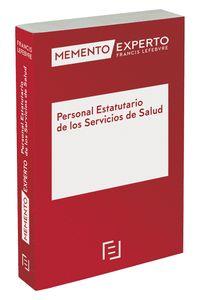 MEMENTO EXPERTO PERSONAL ESTATUTARIO DE LOS SERVICIOS DE SALUD.