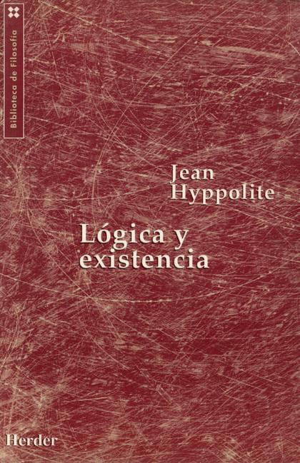 LOGICA Y EXISTENCIA
