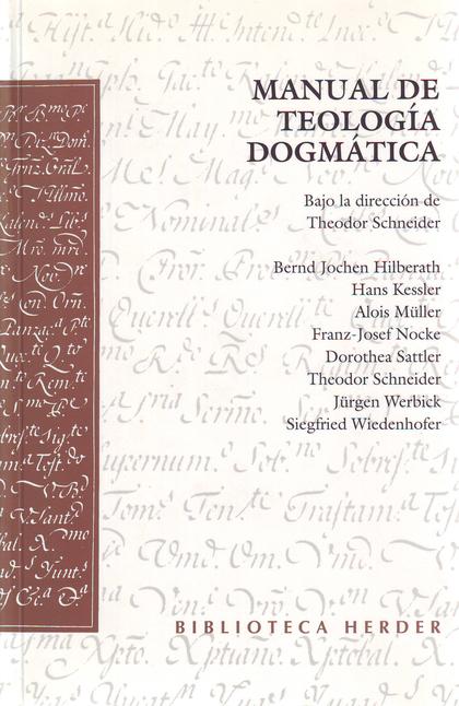 MANUAL DE TEOLOGIA DOGMATICA