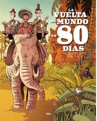 LA VUELTA AL MUNDO EN 80 DÍAS (ALBÚM).