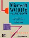 MICROSOFT WORD 6 WINDOWS MANUAL BOLSILLO