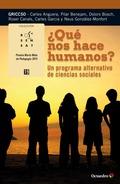¿QUÉ NOS HACE HUMANOS?                                                          UN PROGRAMA ALT