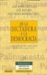 DE LA DICTADURA A LA DEMOCRACIA: LA ACCIÓN DE LOS CRISTIANOS EN ESPAÑA (1939-1975)