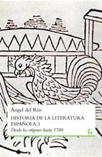 HISTORIA DE LA LITERATURA ESPAÑOLA I