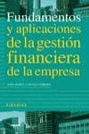 FUNDAMENTOS Y APLICACIONES DE LA GESTIÓN FINANCIERA DE LA EMPRESA