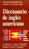 DICCIONARIO DE INGLÉS AMERICANO