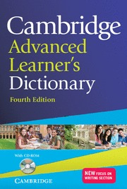 CAMBRIDGE ADVANCED LEARNER´S DICTIONARY WITH CD-ROM  PAPERBACK
