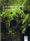 LOS ANÓNIMOS DE LA GUERRA DE CUBA
