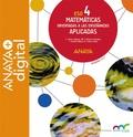 MATEMÁTICAS ORIENTADAS A LAS ENSEÑANZAS APLICADAS 4. ESO. ANAYA + DIGITAL..
