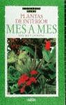 PLANTAS DE INTERIOR MES A MES