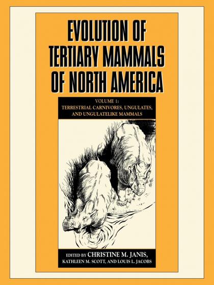 EVOLUTION OF TERTIARY MAMMALS OF NORTH AMERICA