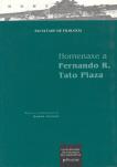 HOMENAXE A FERNANDO R. TATO PLAZA