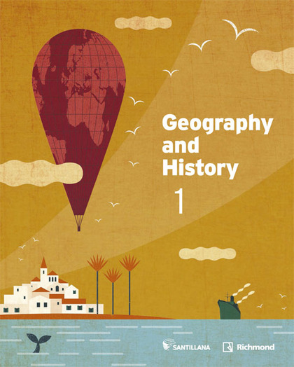 1ESO GEOGRAPHY AND HIST STD + CD ED15.