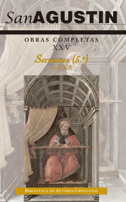 OBRAS COMPLETAS SAN AGUSTIN XXV.SERMONES.
