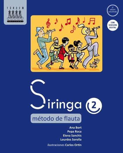 SIRINGA 2, MÉTODO DE FLAUTA