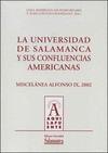 LA UNIVERSIDAD DE SALAMANCA Y SUS CONFLUENCIAS AMERICANAS