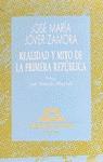 REALIDAD Y MITO 1ª REPUBLICA
