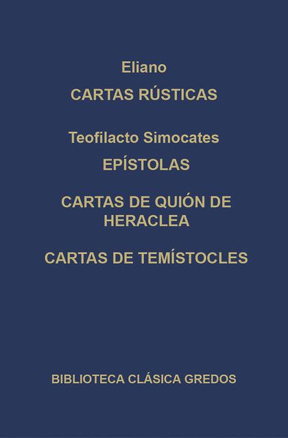 263.CARTAS RUSTICAS. TEOFILACTO SIMOCATES......