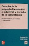 DERECHO PROPIEDAD INTELECTUAL INDUSTRIAL DERECHO COMPETENCIA