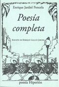 POESÍA COMPLETA DE JARDIEL PONCELA.