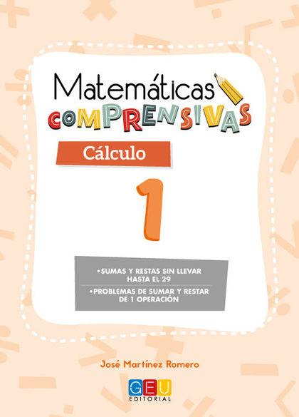 MATEMATICAS COMPRENSIVAS CALCULO 1.