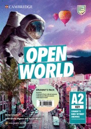 OPEN WORLD KEY. ENGLISH FOR SPANISH SPEAKERS. STUDENT´S PACK (STUDENT´S BOOK WIT.