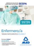 ENFERMERO/A DEL SERVICIO DE SALUD DEL PRINCIPADO DE ASTURIAS (SESPA). TEMARIO PA