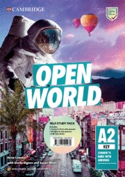 OPEN WORLD KEY. ENGLISH FOR SPANISH SPEAKERS. SELF-STUDY PACK (STUDENT´S BOOK WI.
