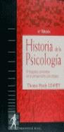 HISTORIA DE LA PSICOLOGIA 4 EDICION