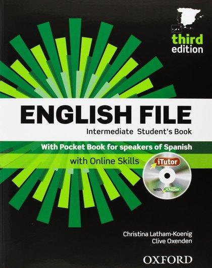 ENGLISH FILE INTERM.(3ªED)(STUDENTS+ITUTOR+POCKET)