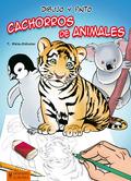 DIBUJO Y PINTO CACHORROS DE ANIMALES.