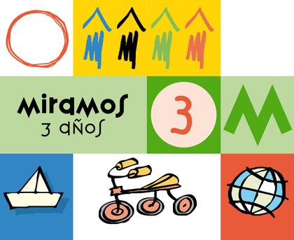 MIRAMOS, EDUCACIÓN INFANTIL, 3 AÑOS. CUADERNO DE PERCEPCIÓN VISUAL