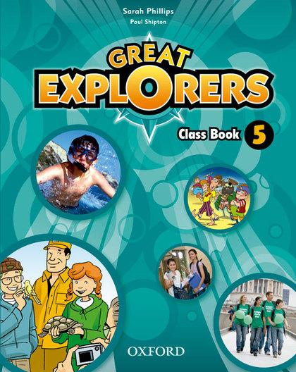 GREAT EXPLORERS 5 CLASS BOOK