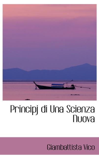 Principj di Una Scienza Nuova