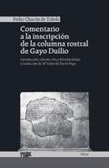 COMENTARIO A LA INSCRIPCIÓN DE LA COLUMNA ROSTRAL DE GAYO DUILIO