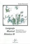 LENGUAJE MUSICAL RÍTMICO III, GRADO ELEMENTAL