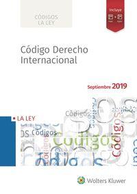CODIGO DERECHO INTERNACIONAL 2019.