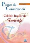 PEONES DE CONSERVACIÓN, CABILDO INSULAR DE TENERIFE. TEMARIO