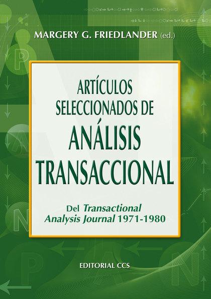 ARTICULOS SELECCIONADOS DE ANALISIS TRANSACCIONAL